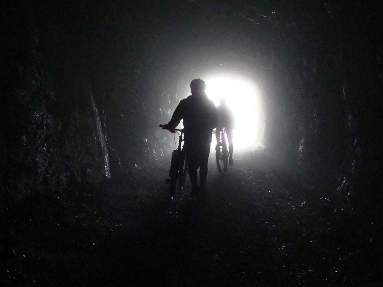 Tunnel under the pass, Monte Tremalzo