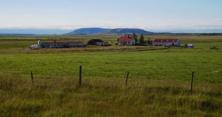 Farmhouse near Laugarvatn