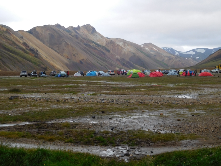 After the rain, Landmannalaugar