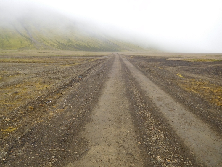The F225 in Landmannalaugar