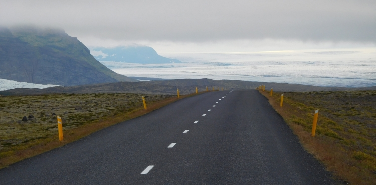 The N1 with the Vatnajökull ice cap