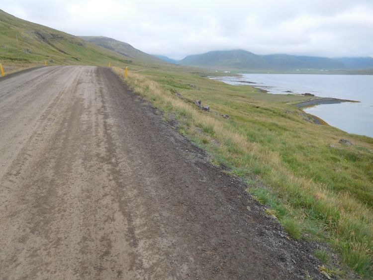 Road 68 between Broddanes and Hólmavík