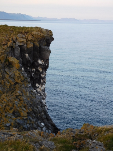 The basalt cliffs of Arnarstapi