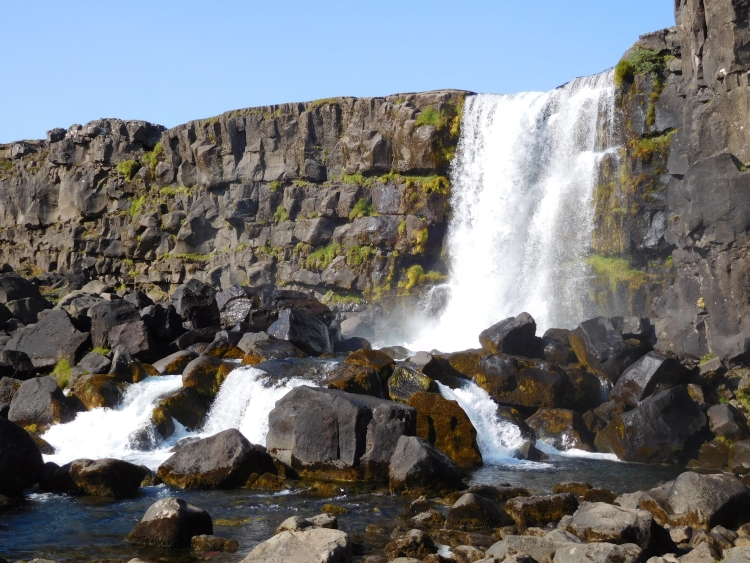 Öxarárfoss in Þingvellir