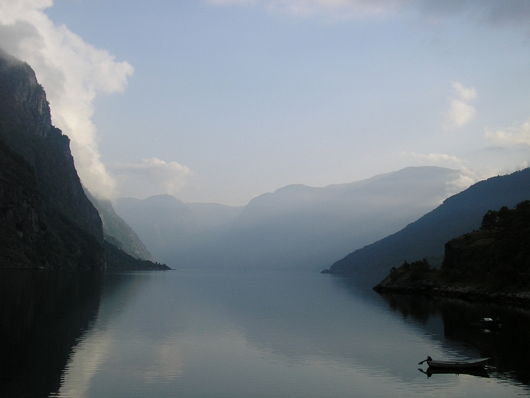 The Aurlandsfjord