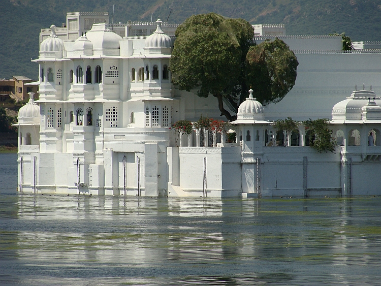 The Floating Palace of Udaipur