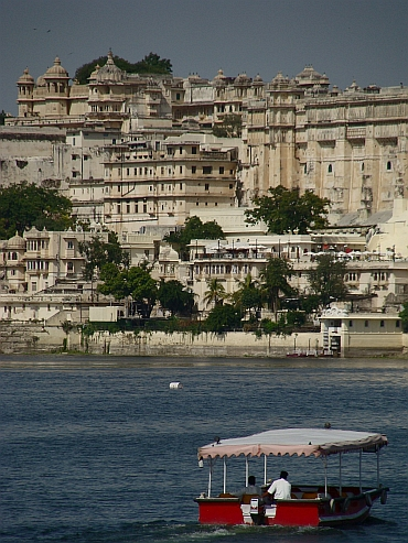 The palace town of Udaipur