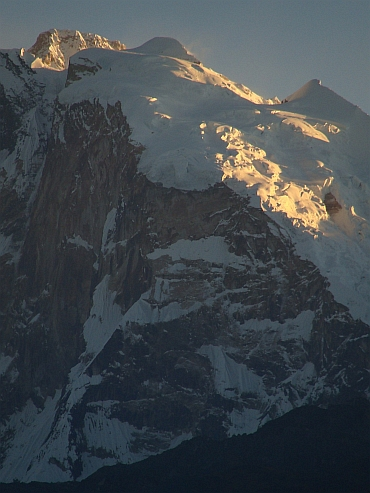 Annapurna I sunrise from Poon Hill