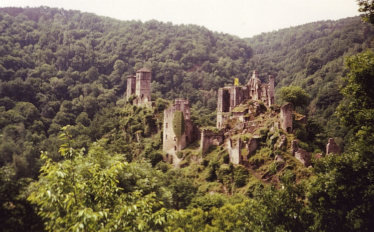 Towers of Merle, Dordogne