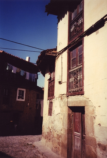 Street in Potes, Cantabria